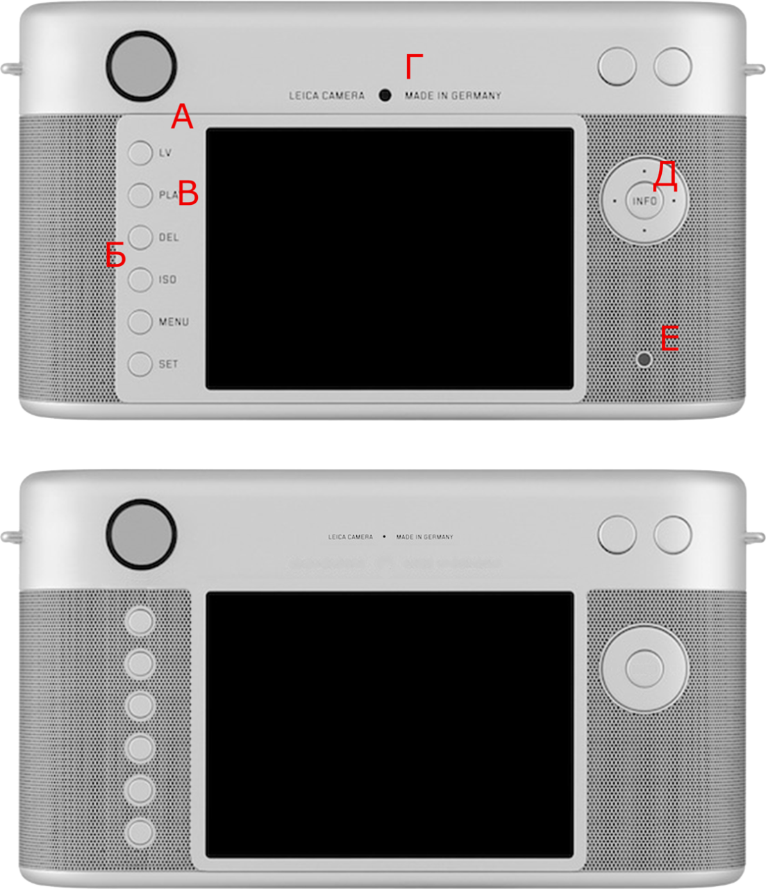 RED One-off Leica My Redesign