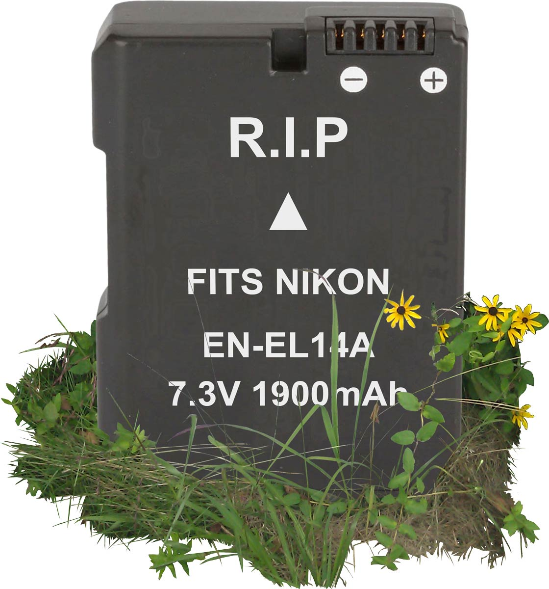 Dead Battery: 3rd party EN-EL14A